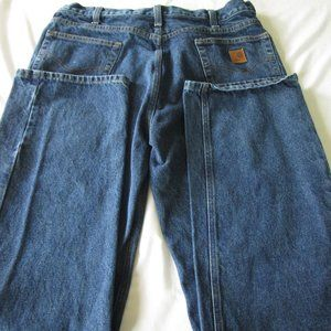 Carhartt Relaxed Fit Denim Jeans-38/34